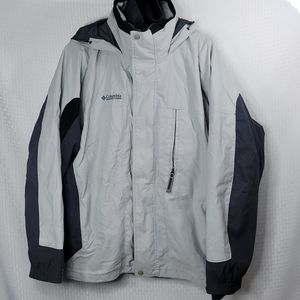 Mens Columbia Interchangeable Hooded coat